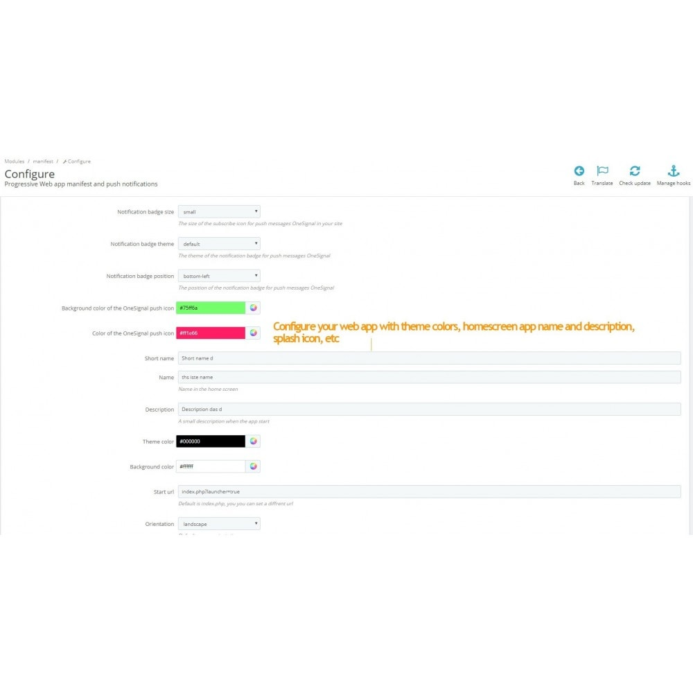 module - E-mails y Notificaciones - Progressive web app and push notifications - 3