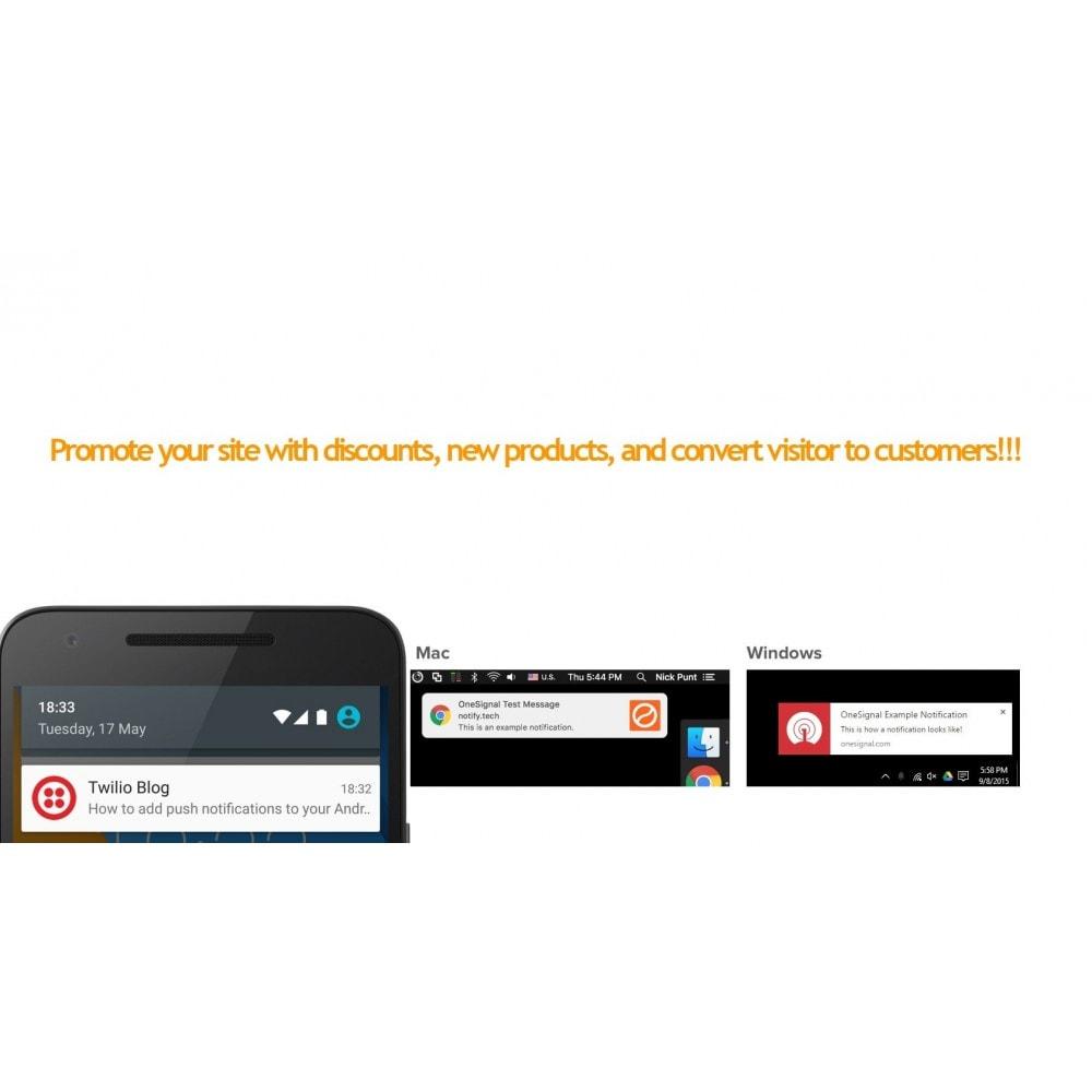 module - E-mails y Notificaciones - Progressive web app and push notifications - 7