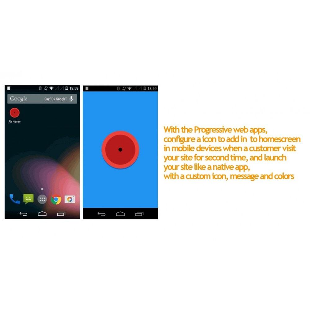 module - E-mails y Notificaciones - Progressive web app and push notifications - 8