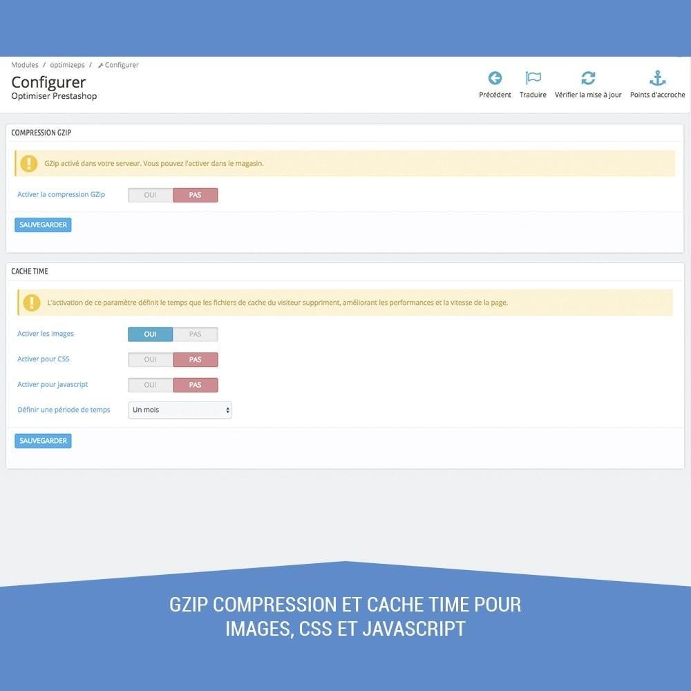 module - Performance du Site - Optimise les performances, propre et accélère DB - 2