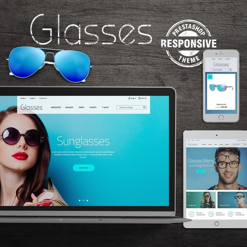 theme - Bellezza & Gioielli - Glasses - 1