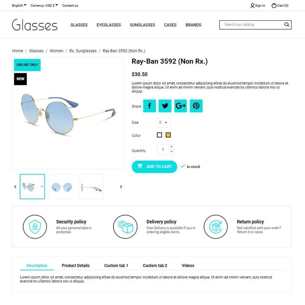 theme - Bellezza & Gioielli - Glasses - 5