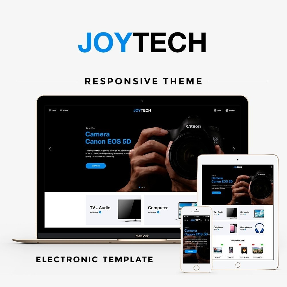 theme - Eletrônicos & High Tech - Joytech - High-tech Shop - 1