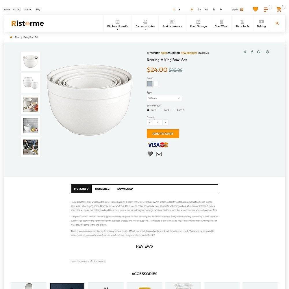 theme - Art & Culture - Ristorme - Restaurant Equipment & Houseware - 3