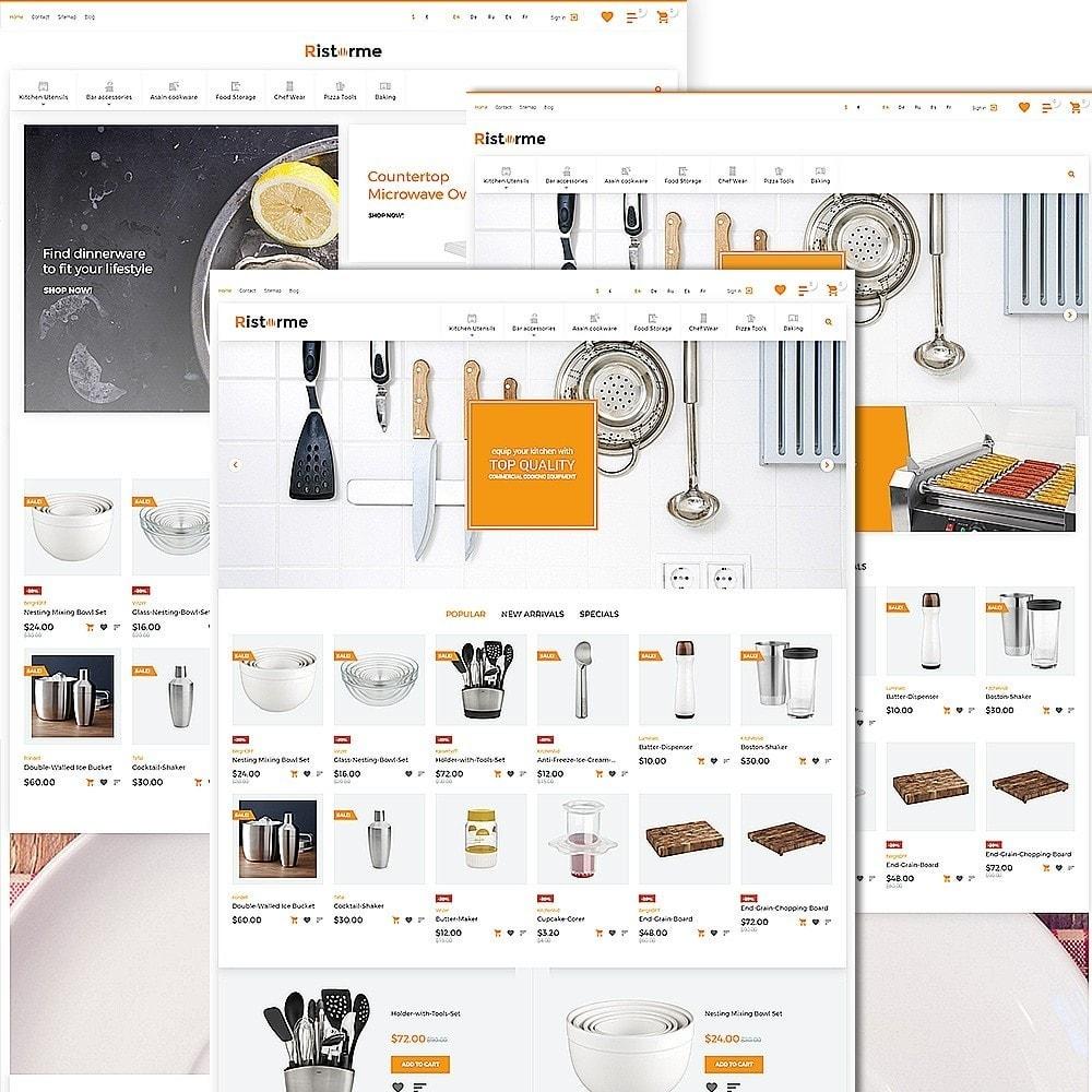 theme - Arte y Cultura - Ristorme - Restaurant Equipment & Houseware - 2