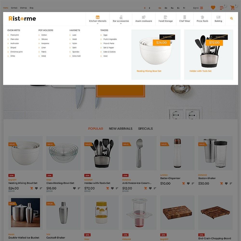 theme - Arte y Cultura - Ristorme - Restaurant Equipment & Houseware - 5