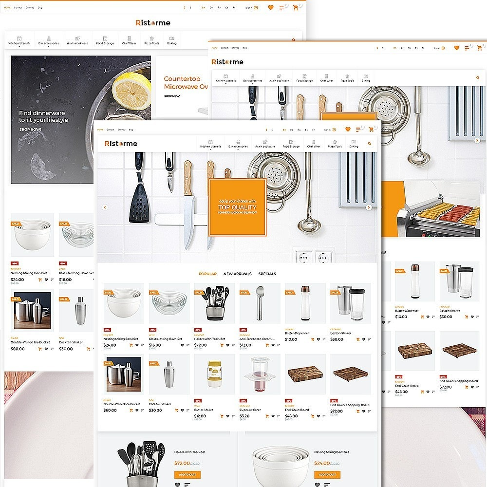 theme - Arte & Cultura - Ristorme - Restaurant Equipment & Houseware - 2