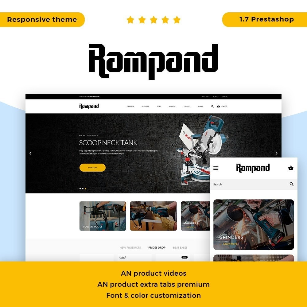 theme - Elektronica & High Tech - Rampand - 1