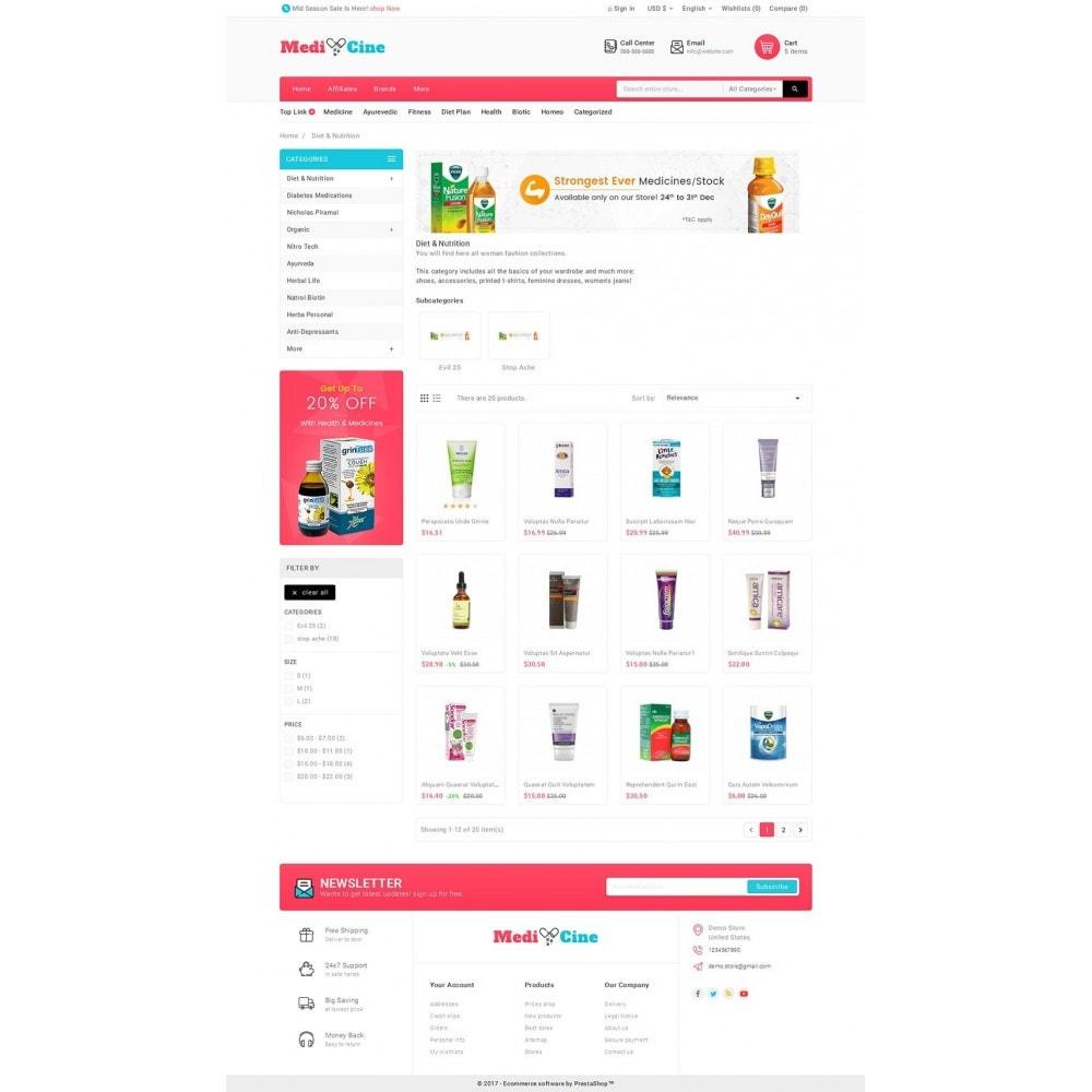 theme - Здоровье и красота - Medicine Mega Store - 3