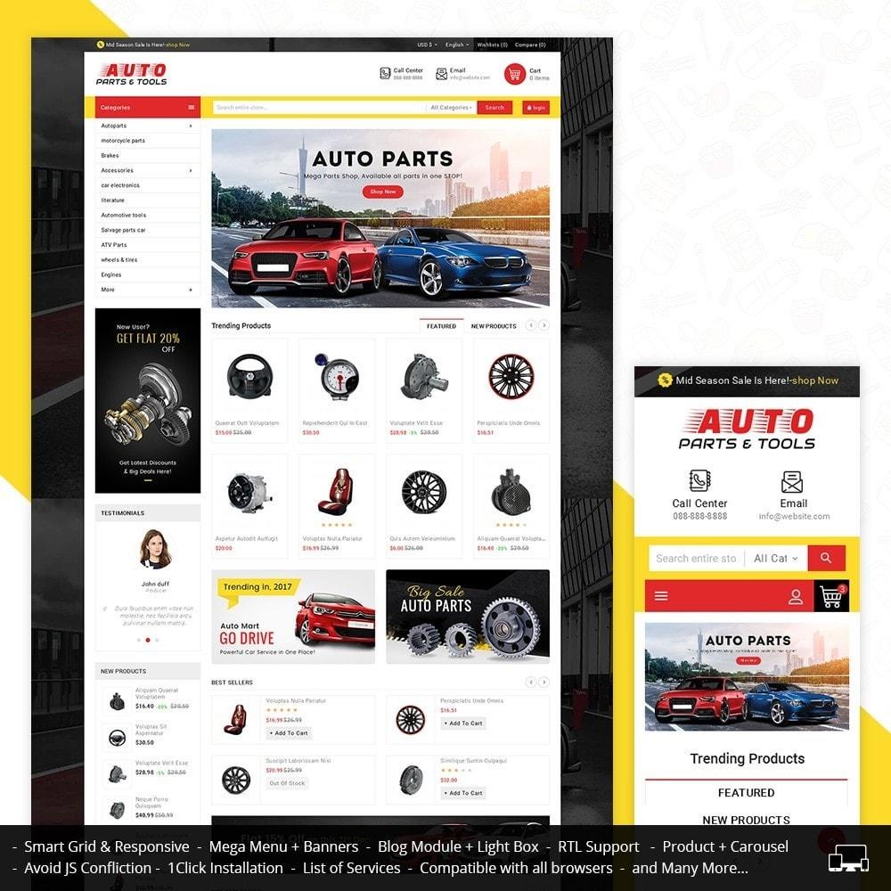 theme - Automotive & Cars - Auto Parts Mega Store - 1