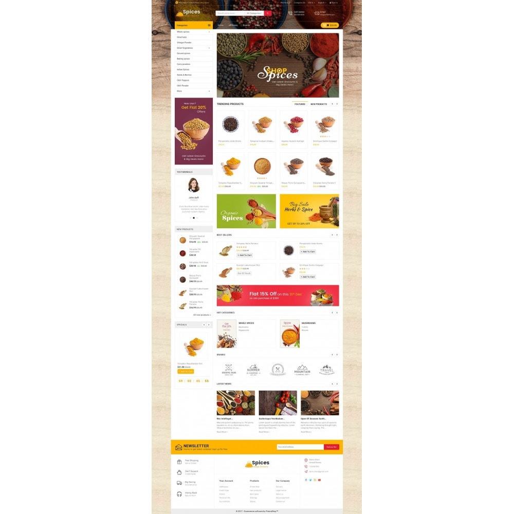 theme - Alimentos & Restaurantes - Spices Mega Store - 2