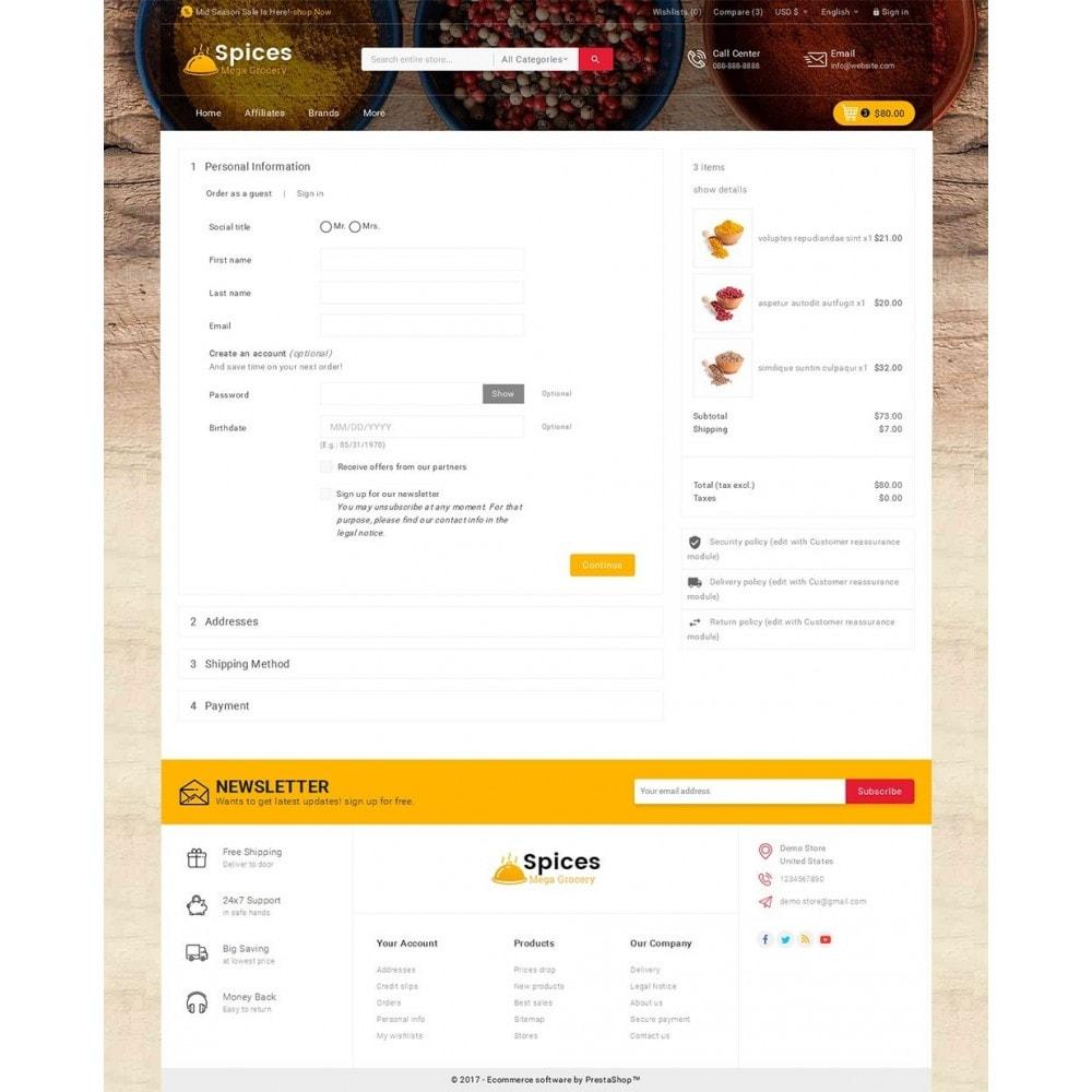 theme - Alimentos & Restaurantes - Spices Mega Store - 7