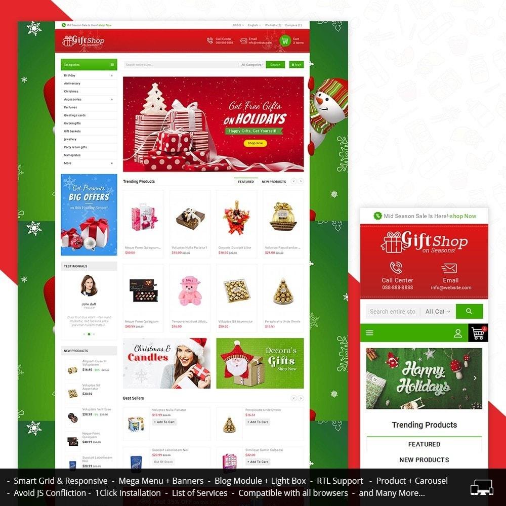 theme - Cadeaux, Fleurs et Fêtes - Christmas Gift Mega Store - 1