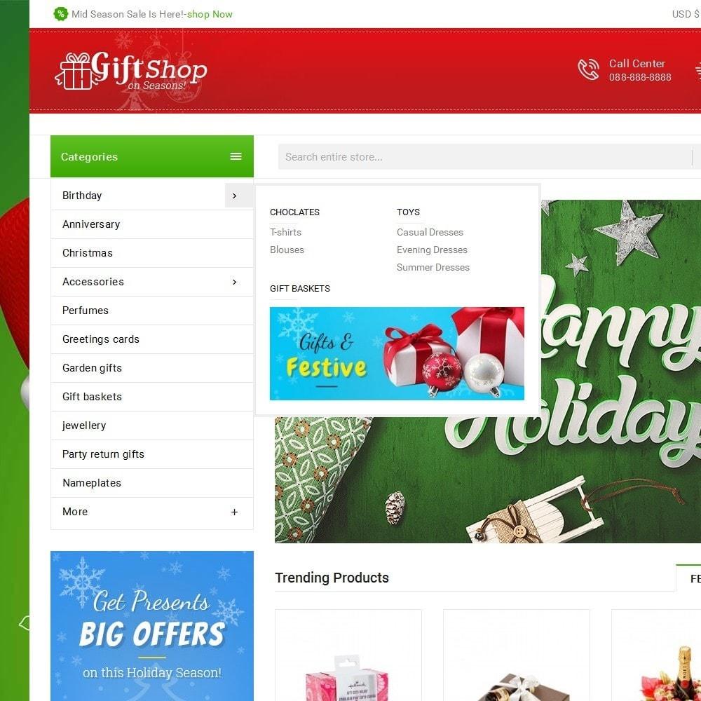 theme - Geschenke, Blumen & Feiern - Christmas Gift Mega Store - 9
