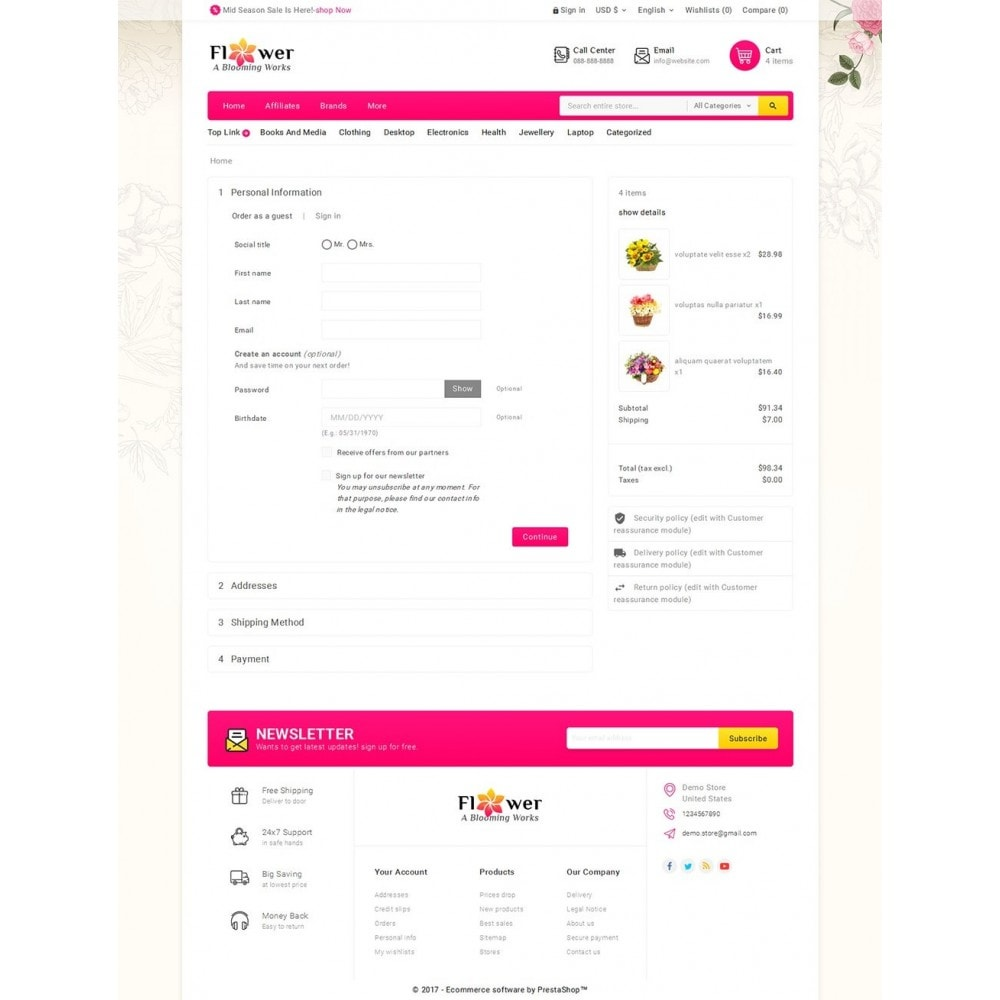 theme - Gifts, Flowers & Celebrations - Blooming Flower Mega Store - 7