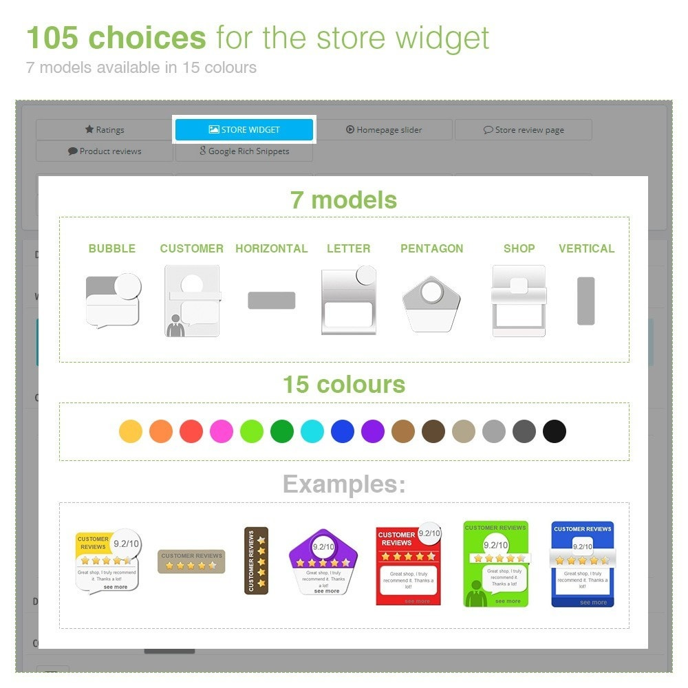 module - Customer Reviews - Store Reviews + Product Reviews + Google Rich Snippets - 5