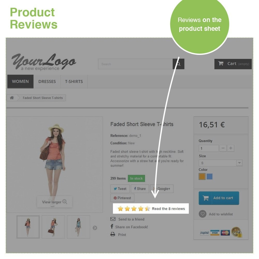 module - Customer Reviews - Store Reviews + Product Reviews + Google Rich Snippets - 19