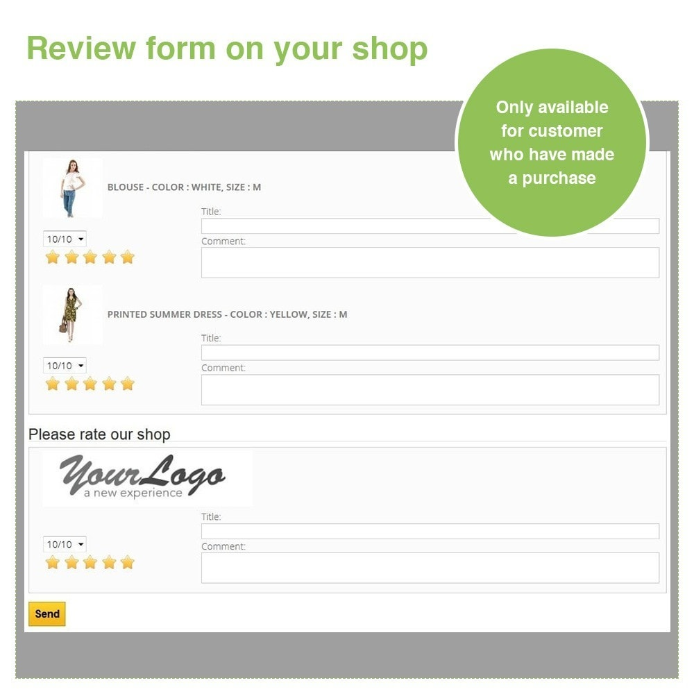 module - Customer Reviews - Store Reviews + Product Reviews + Google Rich Snippets - 29