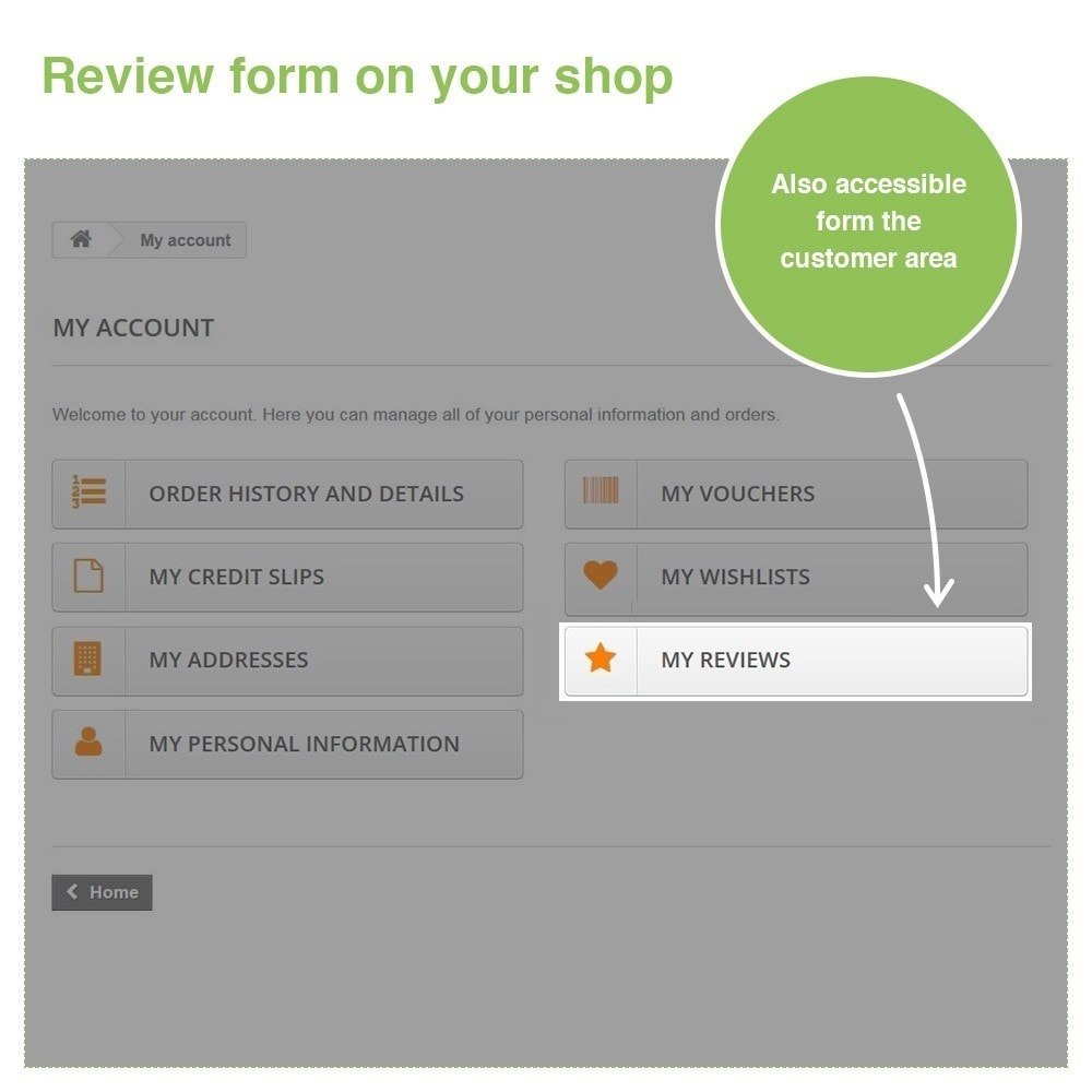 module - Customer Reviews - Store Reviews + Product Reviews + Google Rich Snippets - 30