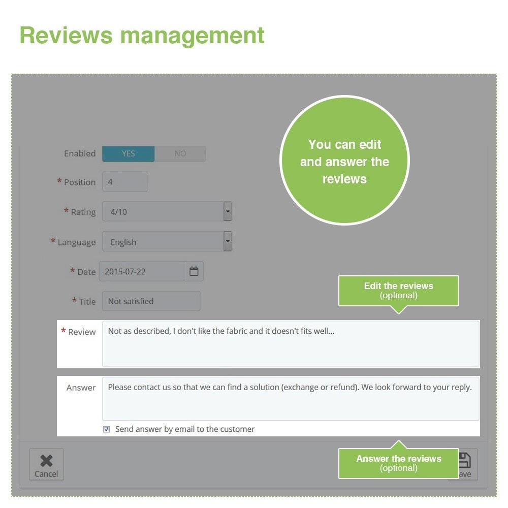 module - Customer Reviews - Store Reviews + Product Reviews + Google Rich Snippets - 37