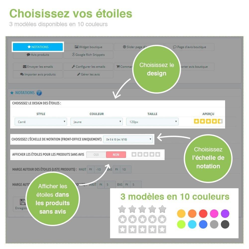 module - Avis clients - Avis Boutique + Avis Produits + Google Rich Snippets - 3