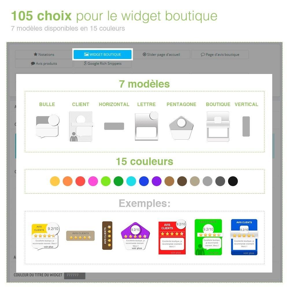 module - Avis clients - Avis Boutique + Avis Produits + Google Rich Snippets - 5