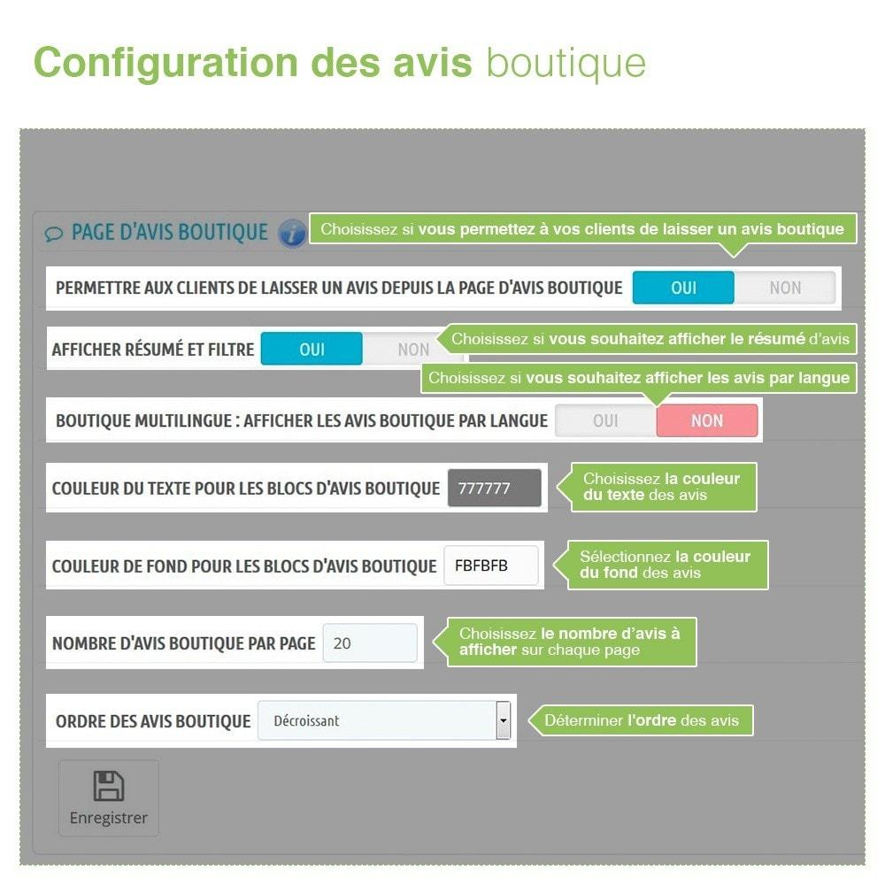 module - Avis clients - Avis Boutique + Avis Produits + Google Rich Snippets - 8