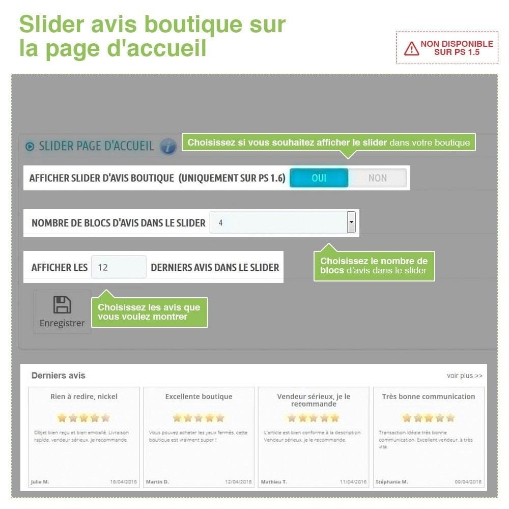 module - Avis clients - Avis Boutique + Avis Produits + Google Rich Snippets - 12