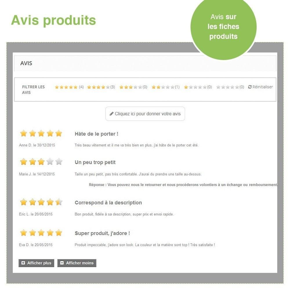 module - Avis clients - Avis Boutique + Avis Produits + Google Rich Snippets - 20