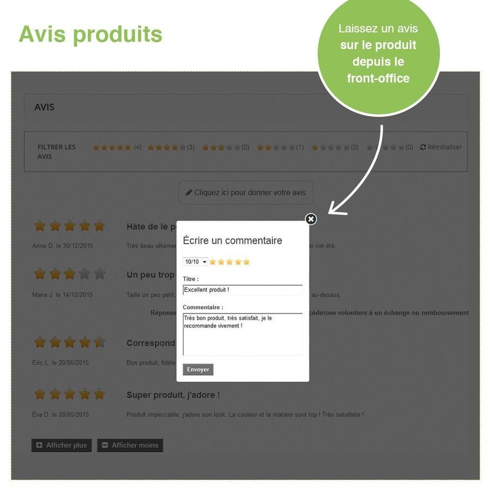 module - Avis clients - Avis Boutique + Avis Produits + Google Rich Snippets - 21