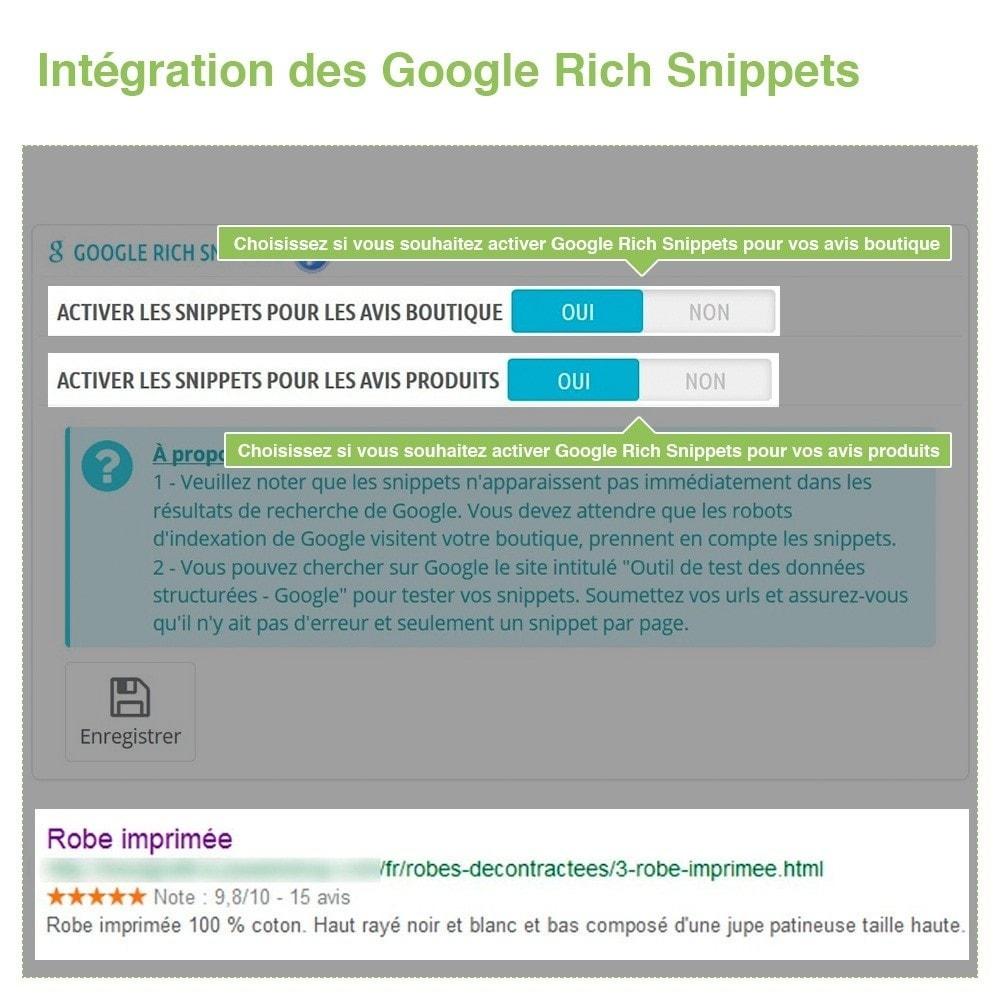 module - Avis clients - Avis Boutique + Avis Produits + Google Rich Snippets - 22