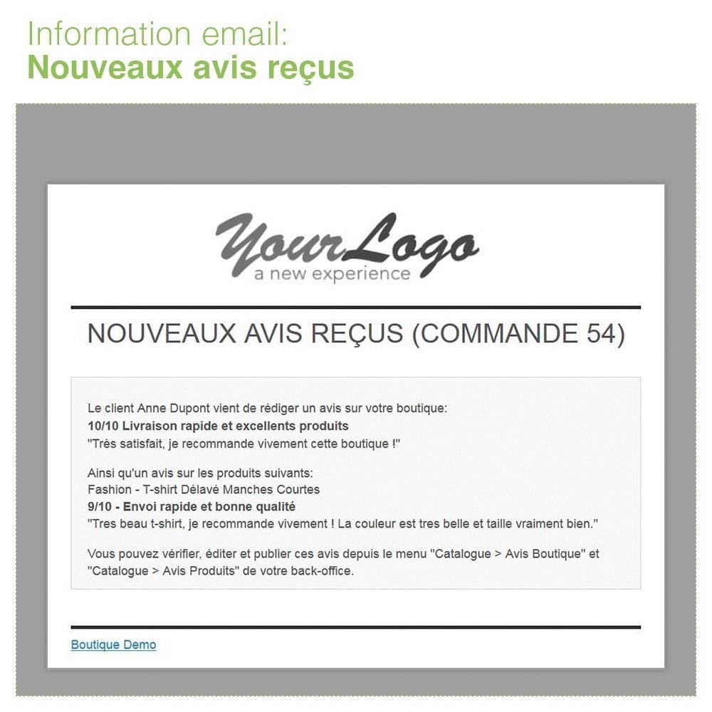 module - Avis clients - Avis Boutique + Avis Produits + Google Rich Snippets - 33