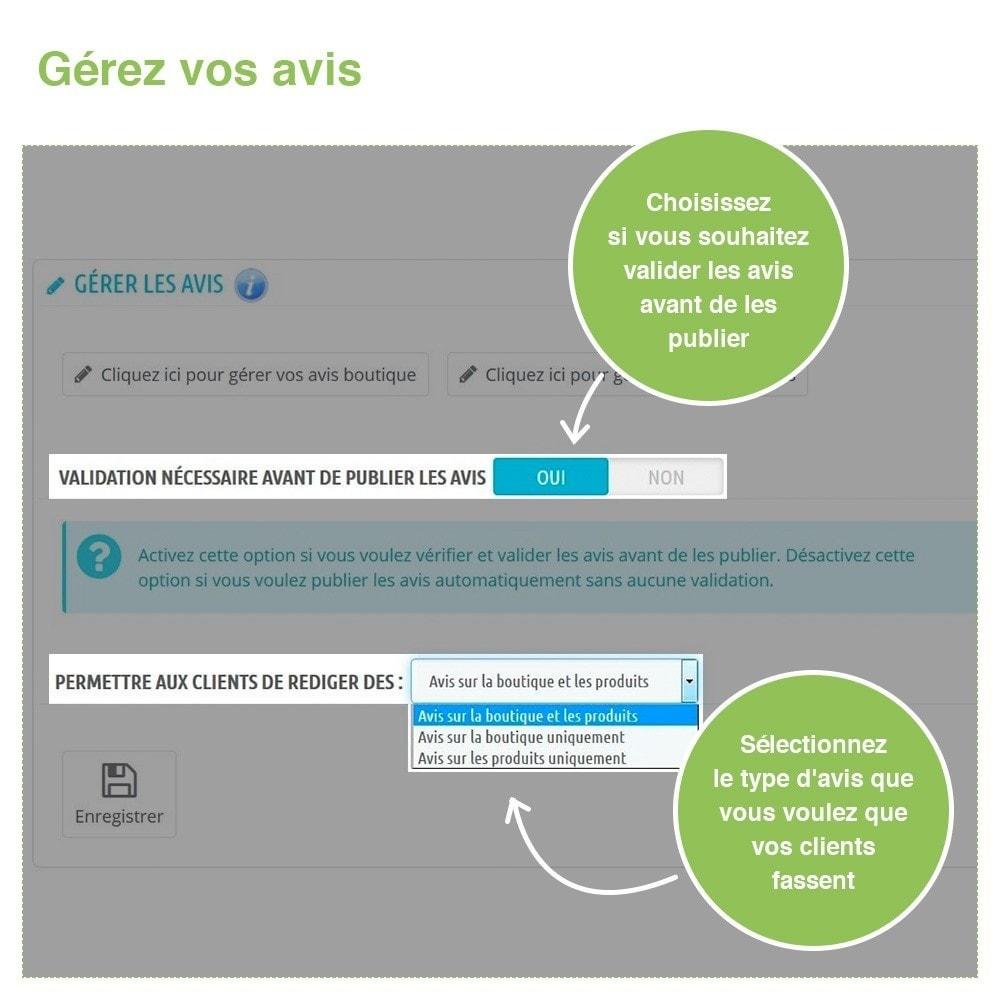 module - Avis clients - Avis Boutique + Avis Produits + Google Rich Snippets - 34