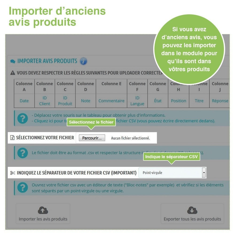 module - Avis clients - Avis Boutique + Avis Produits + Google Rich Snippets - 40
