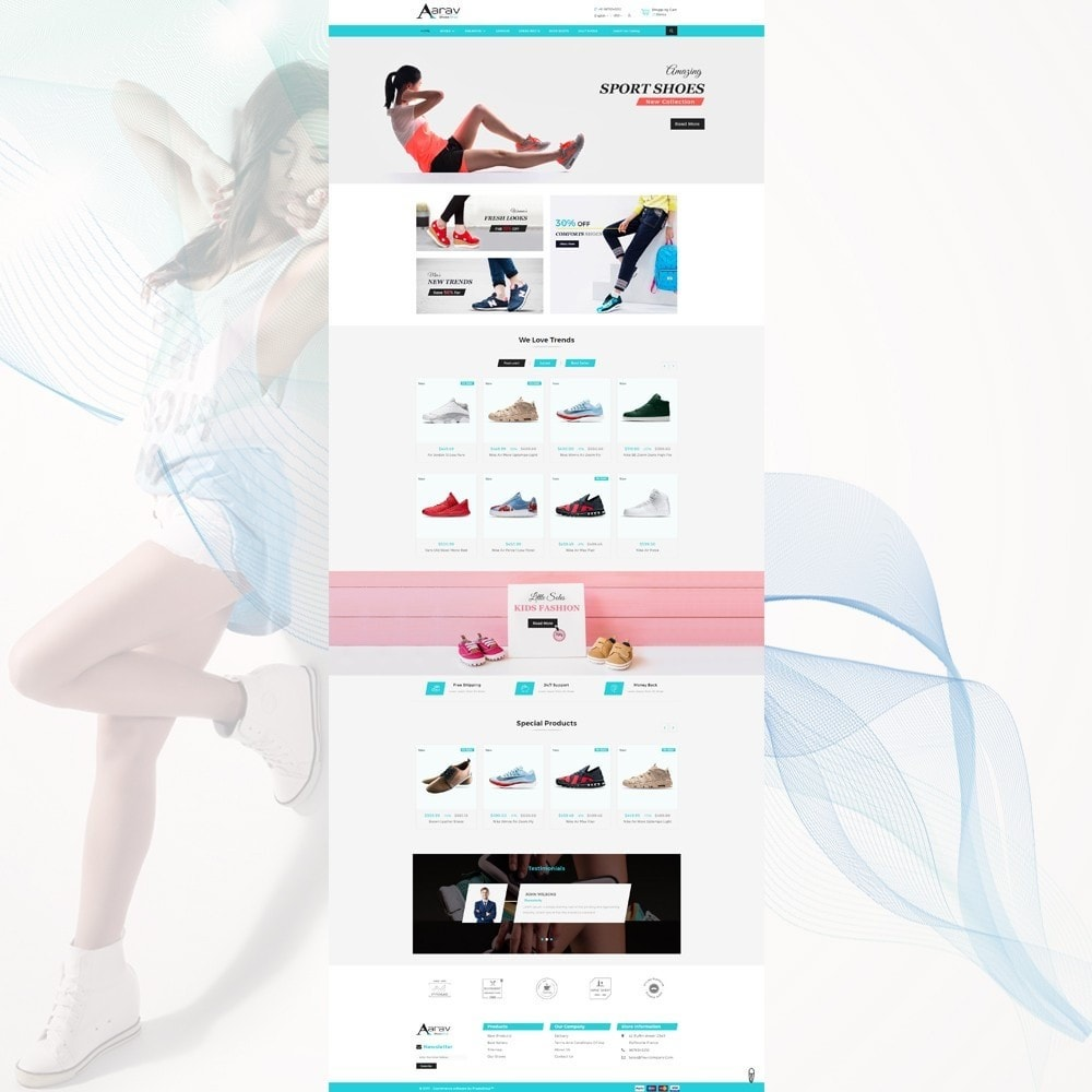 theme - Moda y Calzado - Shoes Shop - 2