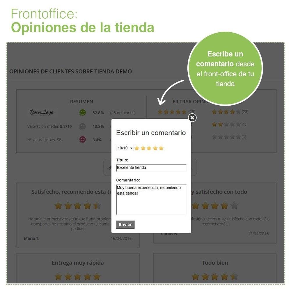 module - Comentarios de clientes - Opiniones Tienda + Opiniones Productos + Rich Snippets - 9
