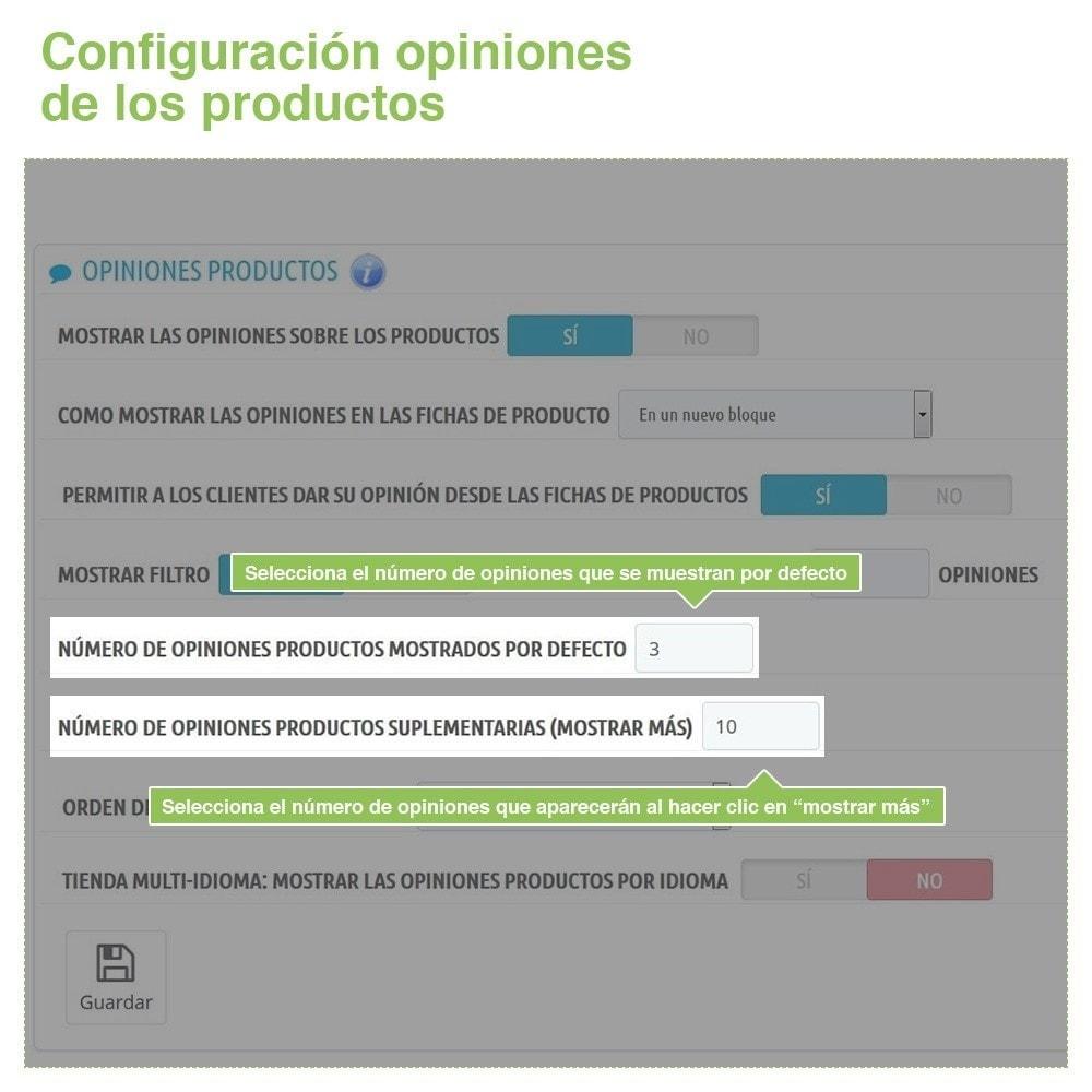 module - Comentarios de clientes - Opiniones Tienda + Opiniones Productos + Rich Snippets - 14