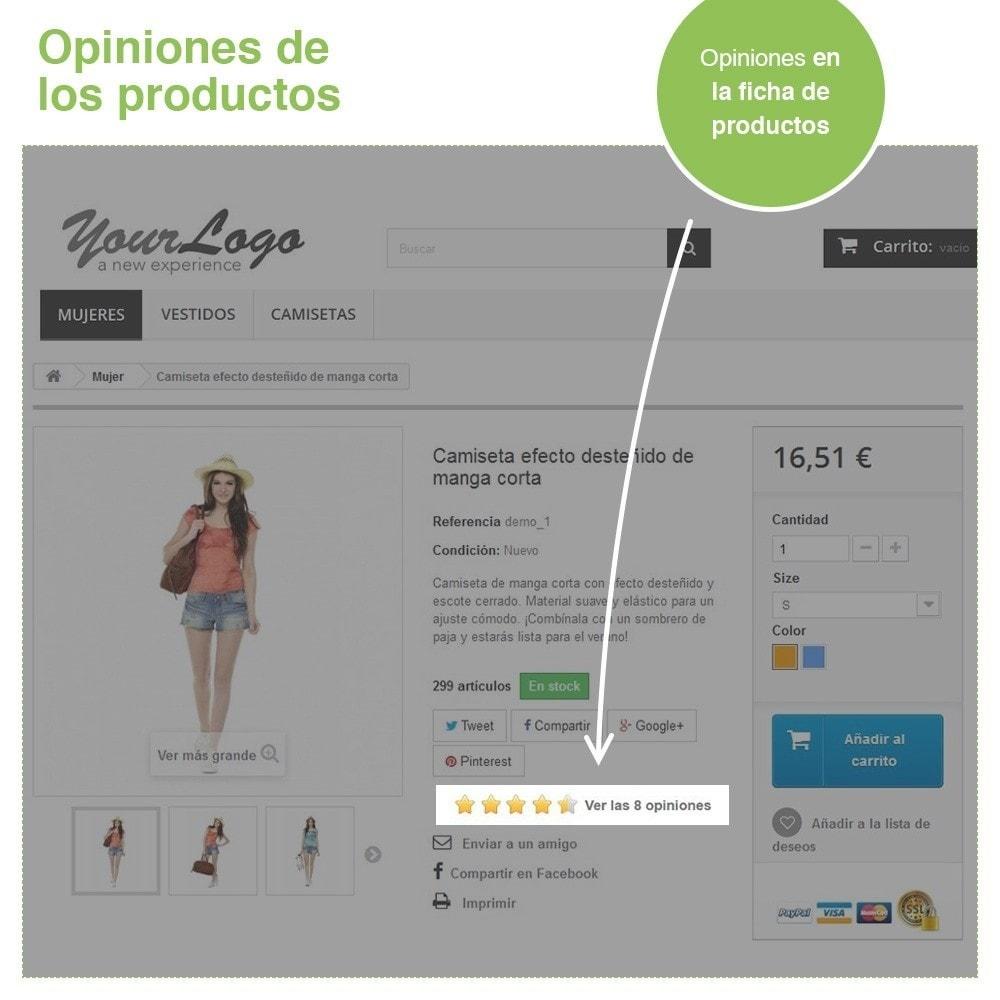 module - Comentarios de clientes - Opiniones Tienda + Opiniones Productos + Rich Snippets - 19