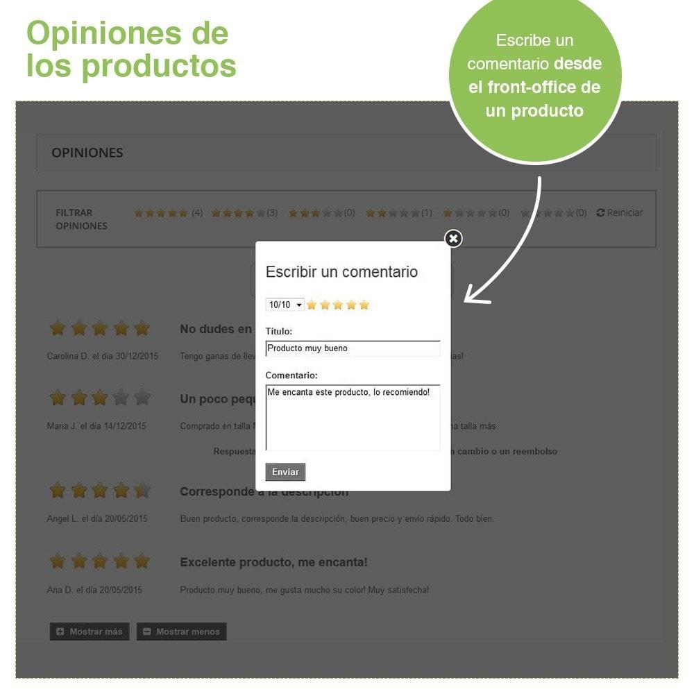module - Comentarios de clientes - Opiniones Tienda + Opiniones Productos + Rich Snippets - 21
