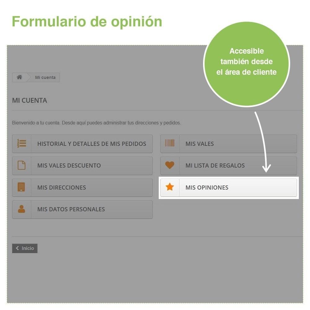 module - Comentarios de clientes - Opiniones Tienda + Opiniones Productos + Rich Snippets - 30