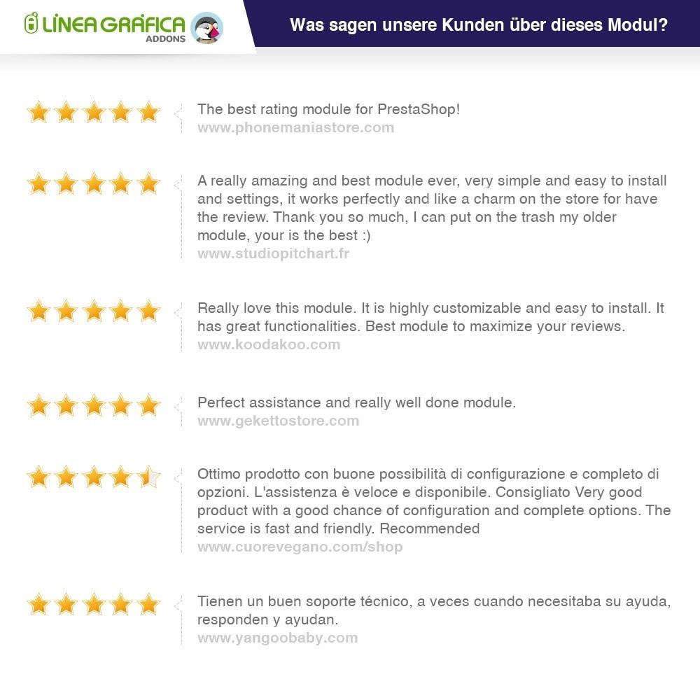 module - Kundenbewertungen - Store und Produkt Bewertungen + Google Rich Snippets - 2