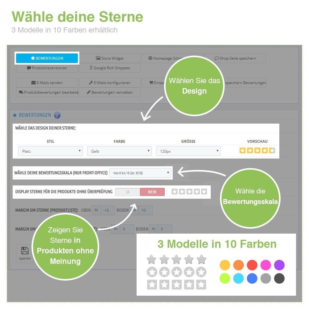 module - Kundenbewertungen - Store und Produkt Bewertungen + Google Rich Snippets - 3