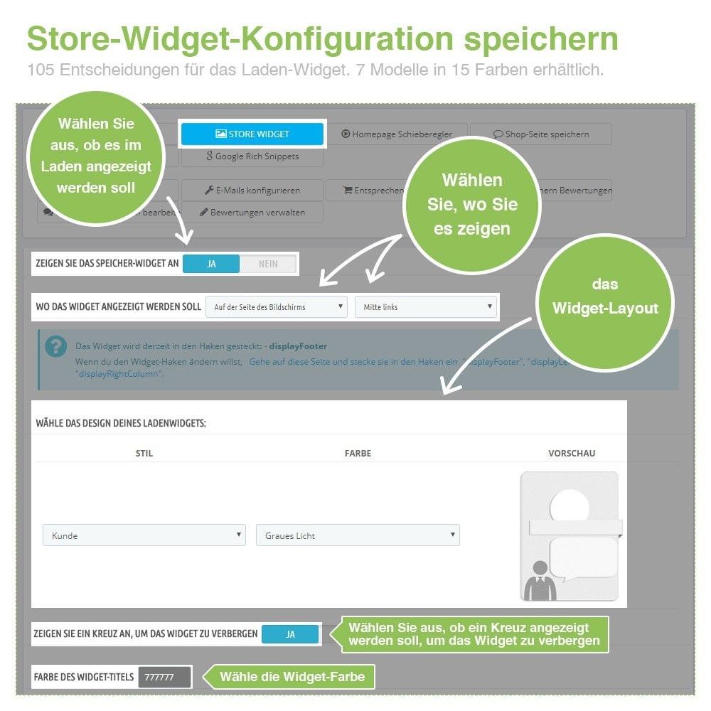 module - Kundenbewertungen - Store und Produkt Bewertungen + Google Rich Snippets - 4