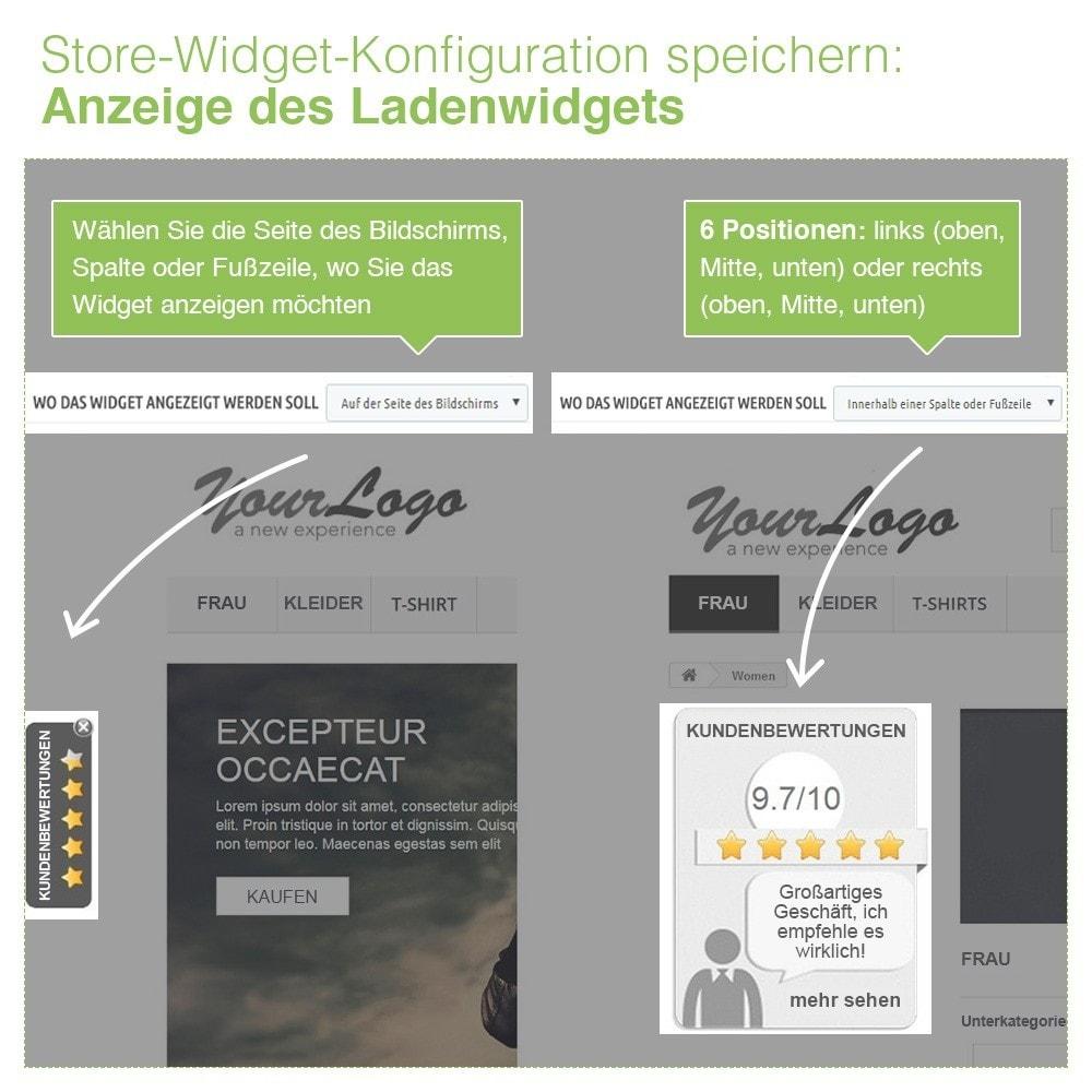 module - Kundenbewertungen - Store und Produkt Bewertungen + Google Rich Snippets - 6