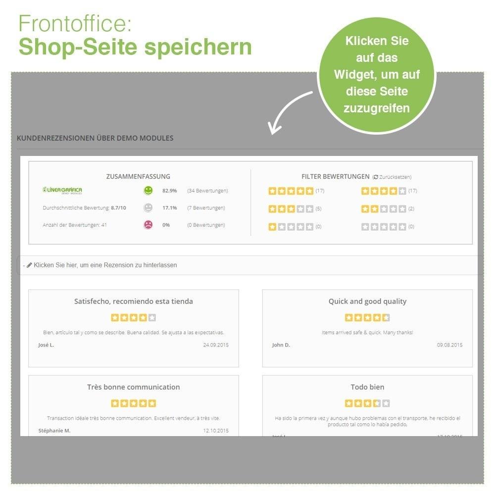 module - Kundenbewertungen - Store und Produkt Bewertungen + Google Rich Snippets - 9
