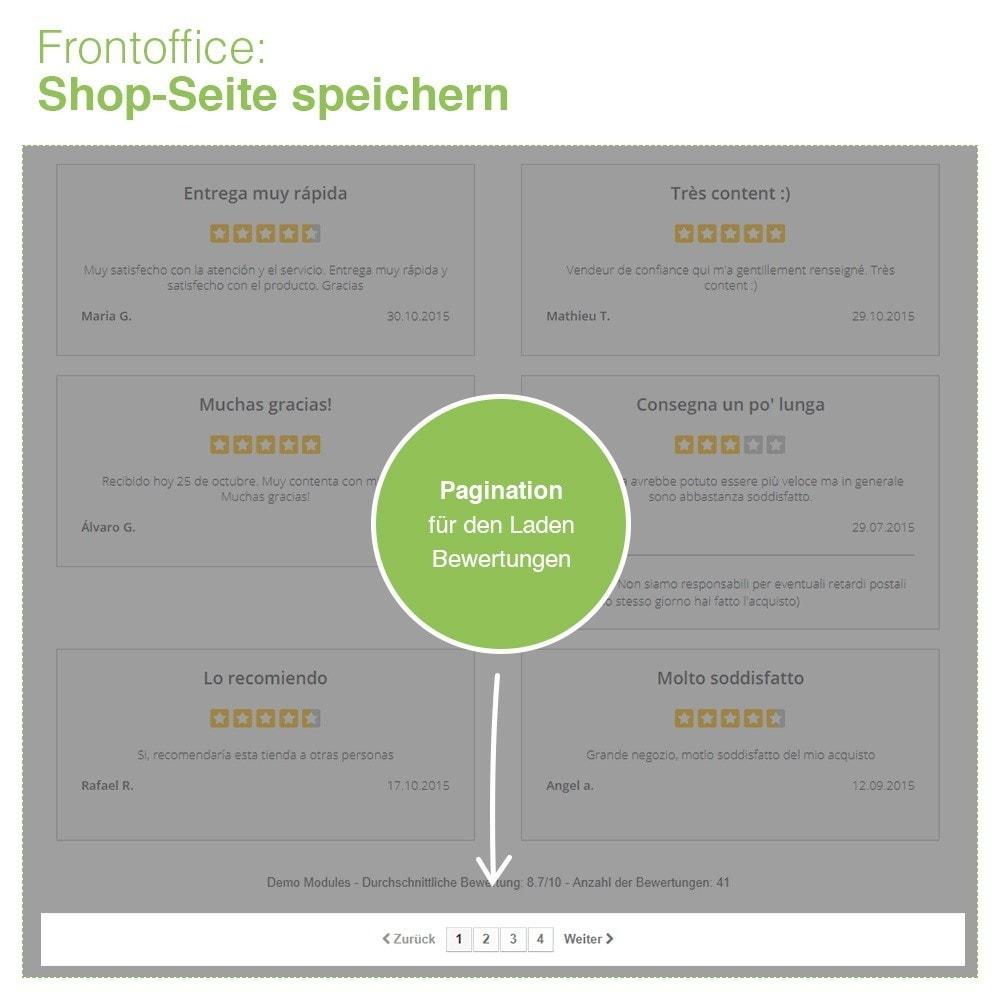 module - Kundenbewertungen - Store und Produkt Bewertungen + Google Rich Snippets - 11