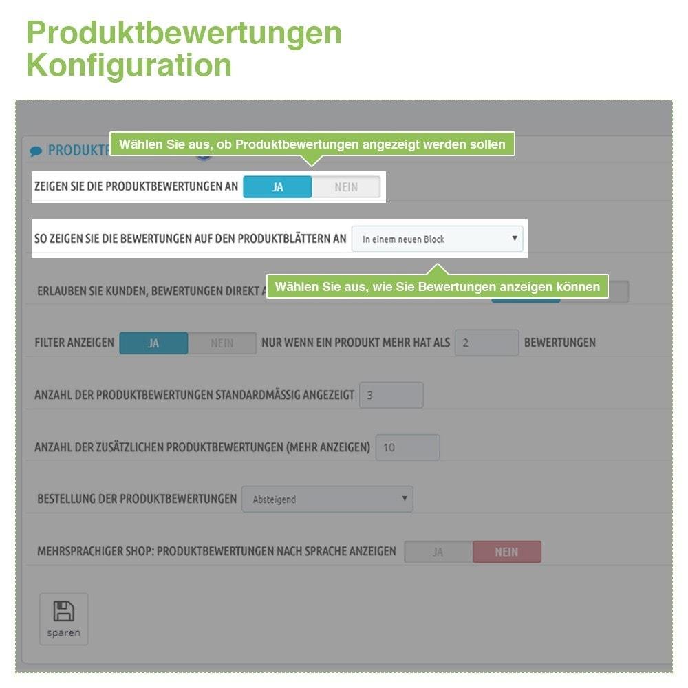 module - Kundenbewertungen - Store und Produkt Bewertungen + Google Rich Snippets - 13