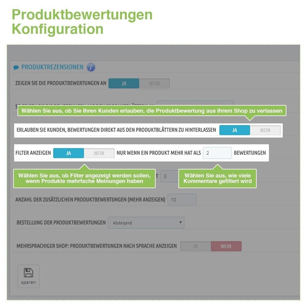 module - Kundenbewertungen - Store und Produkt Bewertungen + Google Rich Snippets - 14
