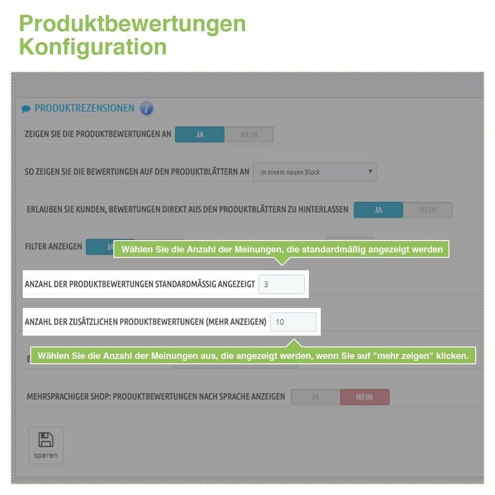 module - Kundenbewertungen - Store und Produkt Bewertungen + Google Rich Snippets - 15