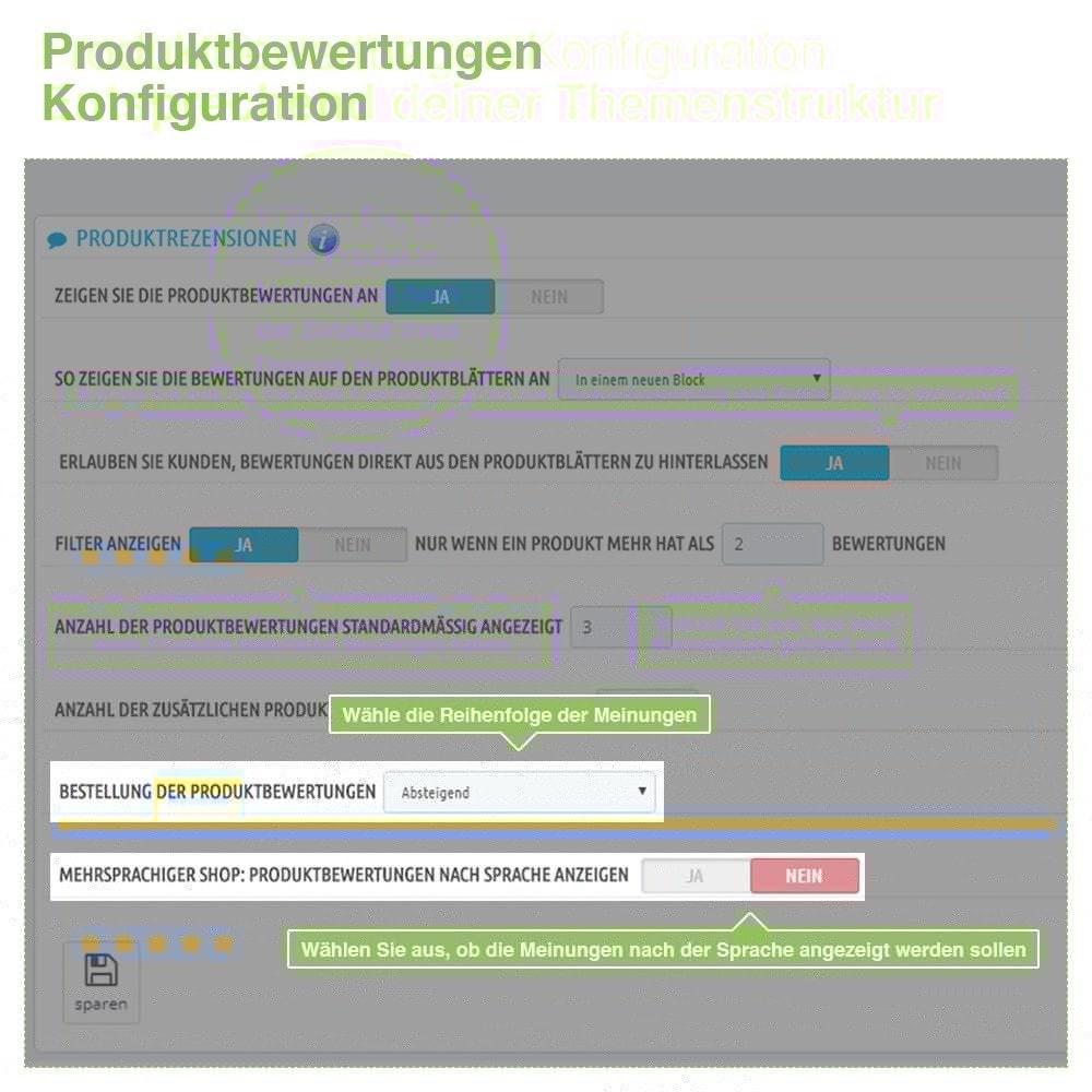 module - Kundenbewertungen - Store und Produkt Bewertungen + Google Rich Snippets - 16